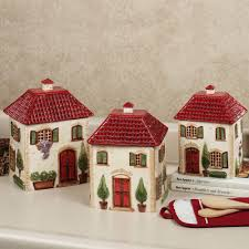 furniture home ceramic kitchen canisters attractive and