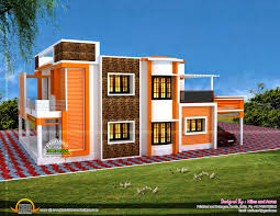 kerala home design kottayam contemporary house plans flat roof