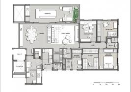 house plan modern contemporary