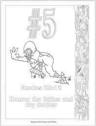 coloring pages free coloring pages mandments ten