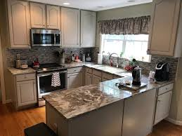 can you stain oak cabinets grey stained oak to amazing gray complete cabinet refinishing