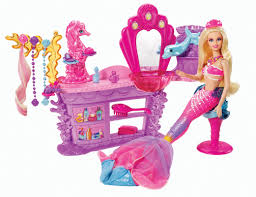 barbie pearl princess hair salon