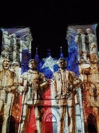 san fernando cathedral light show light show on san fernando cathedral picture of main plaza san