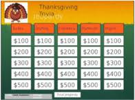 thanksgiving jeopardy coach academics