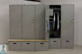 locker benches safety lockers for police department liaison officers