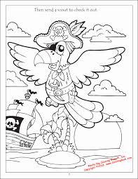 coloring pages parrots kids coloring
