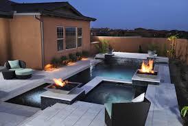 outdoor u0026 garden modern spool pool for enchanting backyard design