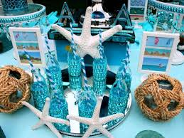 the sea party ideas the sea theme birthday party by sibella