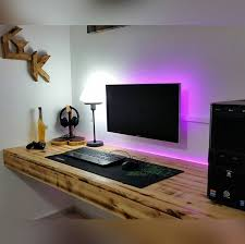 Best Computer Desk For Gaming Gaming Pc Desk Setup 25 Best Ideas About Gaming Desk On