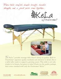 oakworks proluxe massage table kela 30 inch massage table package oakworks pdf catalogues