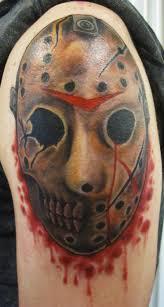 mark lonsdale tattoo bondi sydney friday the thirteenth jason