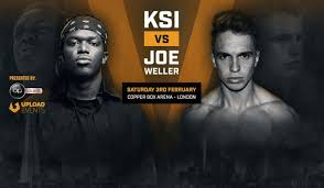 when is the ksi vs joe weller fight and what is the undercard