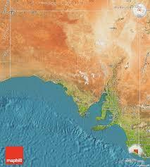 australia satellite map satellite map of south australia