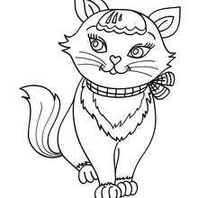Cat Coloring Pages 45 Free Pets And Animals Coloring Pages Cat Coloring Pages