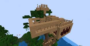 cool tree houses a cool tree house minecraft project