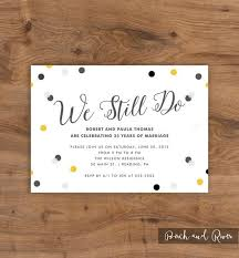 25 year wedding anniversary 10 year wedding anniversary party invitations best 25 anniversary