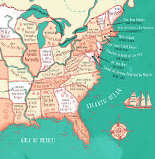 50 State Map This Map Reveals The Meaning Of Each Of The 50 State Names Thechive