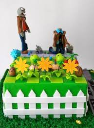 Plants Vs Zombies Cake Decorations Plants Vs Zombies Cake My Cakes Pinterest Plants Vs Zombies