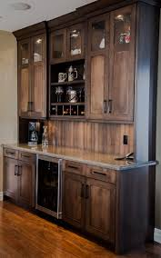 Wet Kitchen Cabinet Custom Maple Wetbar Bar Wall Unit Great For Entertaining And