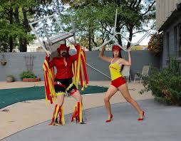 Macho Man Randy Savage Halloween Costume Shair