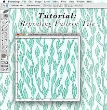 create pattern tile photoshop tutorial repeating pattern tile bee s knees industries