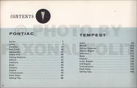 1962 pontiac facts book original