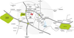 Hyderabad Map Divine Babylon In Hitech City Hyderabad Price Location Map