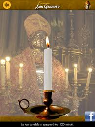accendi candela virtuale una candela virtuale per san gennaro