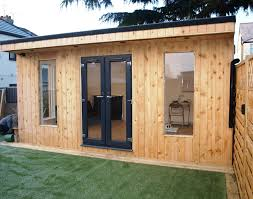 Office In A Shed Outside Home Office In Sidcup Kent Slk Services