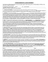 kansas rental lease agreement templates legalforms org