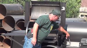 gator pit of texas custom falcon smoker youtube