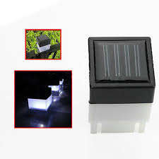 solar powered outdoor l post lights 2018 wholesale led solar powered night light outdoor garden yard
