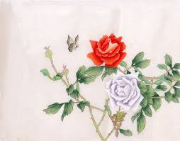 china with roses paintings china scrolls pictures images