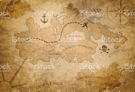 treasure map pirate treasure map stock photo 611868178 istock