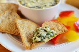 makeover spinach and artichoke dip the foodie and the fix