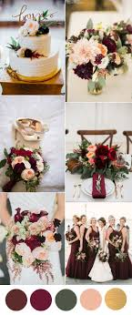 wedding colors the stunning colors of white burgundy wedding six beautiful burgundy wedding colors in shades of gold peach
