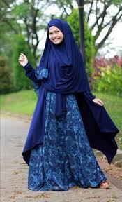 Baju Muslim Ukuran Besar model baju batik muslim big size terbaru 2015 citra muslima