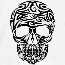 tribal skull design artwork skulls tribal skull vector design