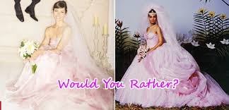 coming to america wedding dress biel s pink wedding dress vs s from coming to
