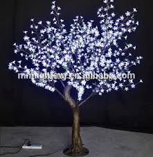 Trees With White Flowers Project Decoration Artificial Tree With White Led Lights Buy