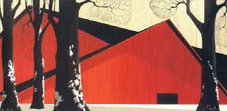 Red Barn Santa Ynez Eyvind Earle Limited Editions And Originals