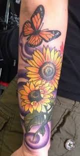 sunflower butterfly sunflower ideas