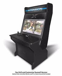 sit down arcade cabinet japanese style sit down xtension arcade cabinet for the x arcade