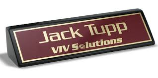 Desk Name Tags by Executive Name Plates Desk Wedges Name Tag Inc