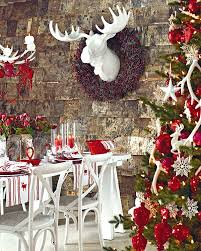 Tasteful Outdoor Christmas Decorations - 50 christmas table decorating ideas for 2011
