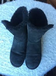 s ugg australia black boots s ugg australia bailey button black boots size 8 ebay