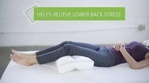 Best Mattress For Side Sleeper Best Knee Support Pillow For Side Sleeper Sleep Yoga Youtube