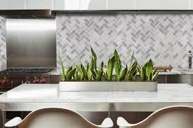 Marble Mosaic Tile Msi Bergamo Herringbone Polished 1