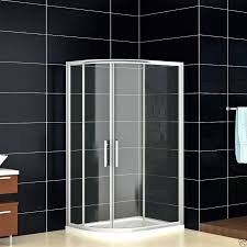 1200mm Shower Door Crown 1200mm X 900mm Offset Quadrant Corner Shower Enclosure