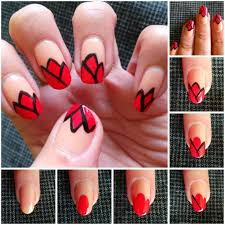 how to nail art step by step how you can do it at home pictures